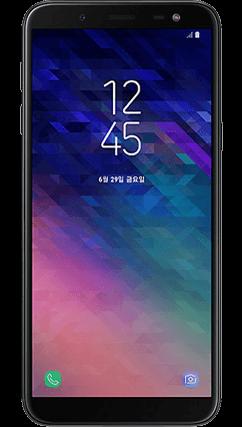 삼성 갤럭시 J6 2018 전면 이미지