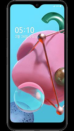 LG Q51 전면 이미지